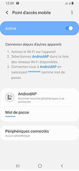 Samsung Galaxy A40 - Internet et connexion - Partager votre connexion en Wi-Fi - Étape 12