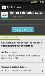 HTC Desire X - Applicazioni - Installazione delle applicazioni - Fase 9