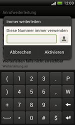 HTC Desire X - Anrufe - Rufumleitungen setzen und löschen - 6 / 8
