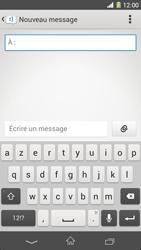 Sony Xpéria Z1 - Contact, Appels, SMS/MMS - Envoyer un MMS - Étape 5