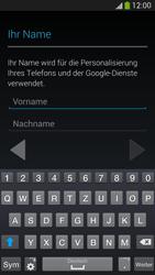 Samsung Galaxy S4 Active - Apps - Konto anlegen und einrichten - 1 / 1