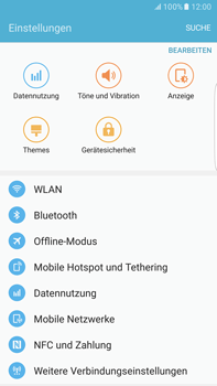 Samsung G928F Galaxy S6 edge+ - Android M - Internet - Manuelle Konfiguration - Schritt 7