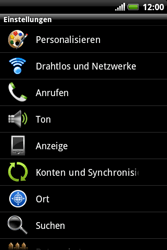 HTC Explorer - WLAN - Manuelle Konfiguration - 4 / 10