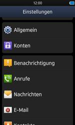 Samsung Wave 3 - Fehlerbehebung - Handy zurücksetzen - 6 / 10