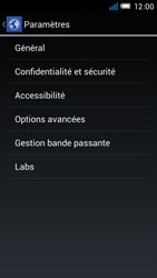 Alcatel One Touch Idol Mini - Internet et roaming de données - configuration manuelle - Étape 24