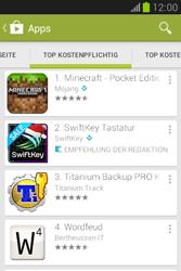 Samsung Galaxy Fame Lite - Apps - Installieren von Apps - Schritt 7