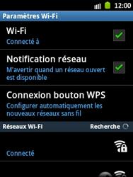 Samsung Galaxy Pocket - WiFi - Configuration du WiFi - Étape 9
