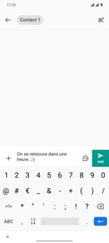OnePlus 7T - Contact, Appels, SMS/MMS - Envoyer un SMS - Étape 8