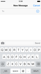 Apple iPhone 5s - MMS - Sending pictures - Step 3