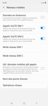 Samsung Galaxy A51 - Aller plus loin - Désactiver les données à l'étranger - Étape 7