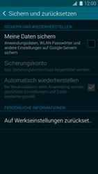 Samsung Galaxy S5 - Fehlerbehebung - Handy zurücksetzen - 7 / 11