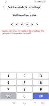 Huawei P30 lite - Sécuriser votre mobile - Activer le code de verrouillage - Étape 7