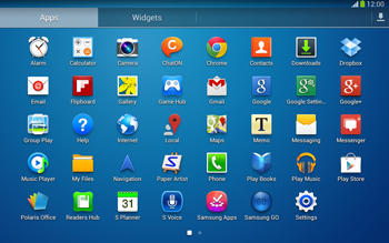 Samsung Galaxy Tab 3 10-1 LTE - Applications - Setting up the application store - Step 3