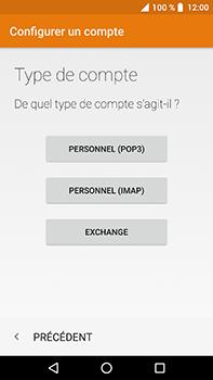 Crosscall Trekker X4 - E-mails - Ajouter ou modifier un compte e-mail - Étape 10