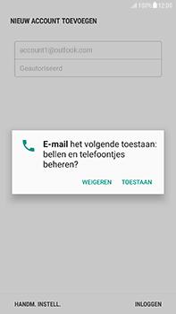 Samsung Galaxy J7 (2017) - E-mail - handmatig instellen (outlook) - Stap 10