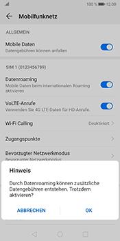 Huawei Mate 10 Pro - Android Pie - Ausland - Im Ausland surfen – Datenroaming - Schritt 8