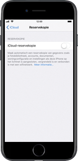 Apple iPhone 8 Plus (Model A1897) - Instellingen aanpassen - Back-up maken in je account - Stap 8