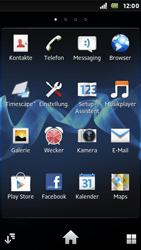 Sony Xperia U - Apps - Konto anlegen und einrichten - Schritt 3