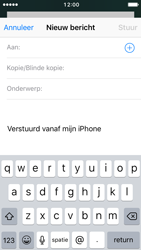 Apple iPhone SE (iOS 10) - e-mail - hoe te versturen - stap 4