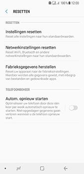 Samsung Galaxy A8 (2018) - Toestel reset - terugzetten naar fabrieksinstellingen - Stap 6