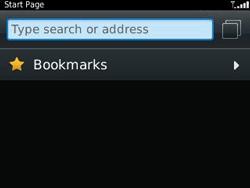 BlackBerry 9320 Curve - Internet - Internet browsing - Step 3