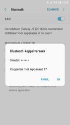 Samsung Galaxy J5 (2016) - Android Nougat - Bluetooth - Headset, carkit verbinding - Stap 8