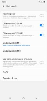 Samsung Galaxy Note 20 Ultra 5G - Rete - Come attivare la connessione di rete 5G - Fase 8
