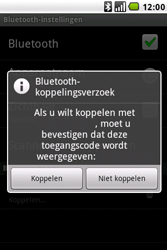 LG GW620 - Bluetooth - koppelen met ander apparaat - Stap 11