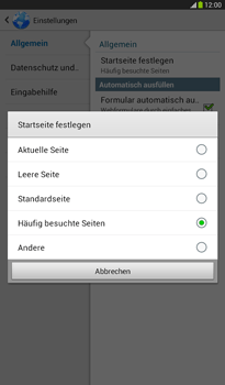 Samsung Galaxy Tab 3 7-0 - Internet - Apn-Einstellungen - 1 / 1