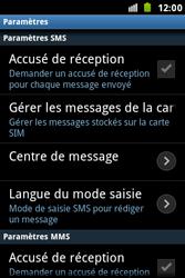 Samsung S7500 Galaxy Ace Plus - SMS - configuration manuelle - Étape 4