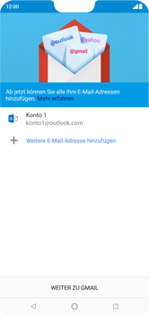 Nokia 6.1 Plus - E-Mail - Konto einrichten (outlook) - 12 / 15