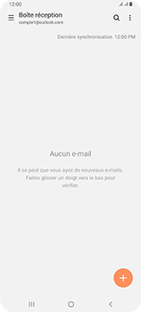 Samsung Galaxy A80 - E-mail - 032c. Email wizard - Outlook - Étape 12