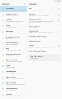Samsung Galaxy Tab A 10.1 (T585) - Android Nougat - Buitenland - Internet in het buitenland - Stap 5
