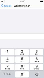 Apple iPhone SE - iOS 13 - Anrufe - Rufumleitungen setzen und löschen - Schritt 7