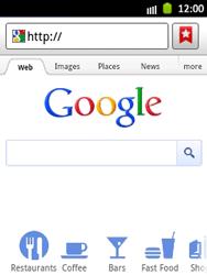 Samsung S5300 Galaxy Pocket - Internet - Internet browsing - Step 6