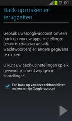 Samsung I9105P Galaxy S II Plus - apps - account instellen - stap 13
