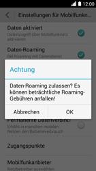 Huawei Ascend Y530 - Ausland - Im Ausland surfen – Datenroaming - 0 / 0
