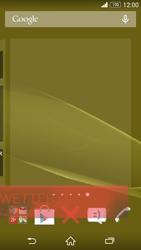 Sony Xperia Z3 - Startanleitung - Installieren von Widgets und Apps auf der Startseite - Schritt 9