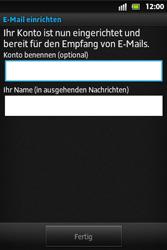 Sony Xperia Go - E-Mail - Konto einrichten - Schritt 14