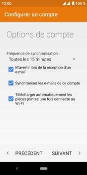 Crosscall Core M4 - E-mails - Ajouter ou modifier votre compte Yahoo - Étape 13