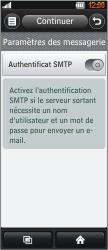 LG BL40 New Chocolate - E-mail - Configuration manuelle - Étape 10