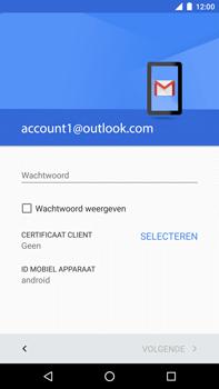 Huawei Google Nexus 6P - E-mail - Handmatig Instellen - Stap 11