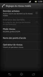 Sony Xperia T - Internet et roaming de données - Configuration manuelle - Étape 6