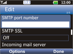 LG C360 Golf - Email - Manual configuration POP3 with SMTP verification - Step 17