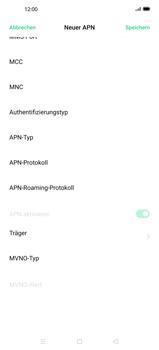 Oppo Find X2 - Internet und Datenroaming - Manuelle Konfiguration - Schritt 12