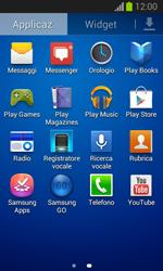 Samsung Galaxy Trend Lite - Applicazioni - Configurazione del negozio applicazioni - Fase 3