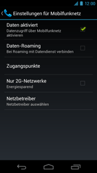Samsung Galaxy Nexus - Internet - Apn-Einstellungen - 6 / 19