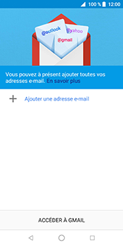 ZTE Blade V9 - E-mail - Configuration manuelle (gmail) - Étape 5