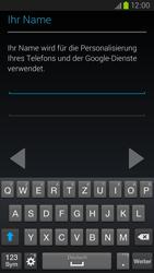 Samsung Galaxy S III LTE - Apps - Einrichten des App Stores - Schritt 6