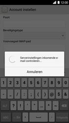 Huawei Ascend G6 - E-mail - e-mail instellen: IMAP (aanbevolen) - Stap 11